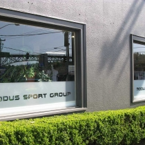 Window Graphics Seattle Studio 3 Signs