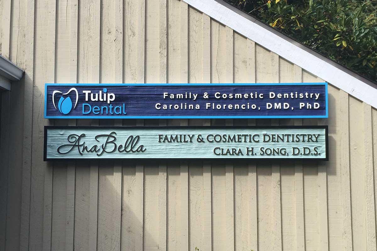 Seattle Sandblasted Signs Studio 3 Signs