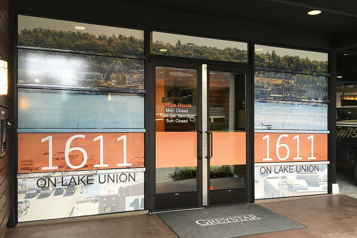 Window Graphics Seattle Studio 3 Signs