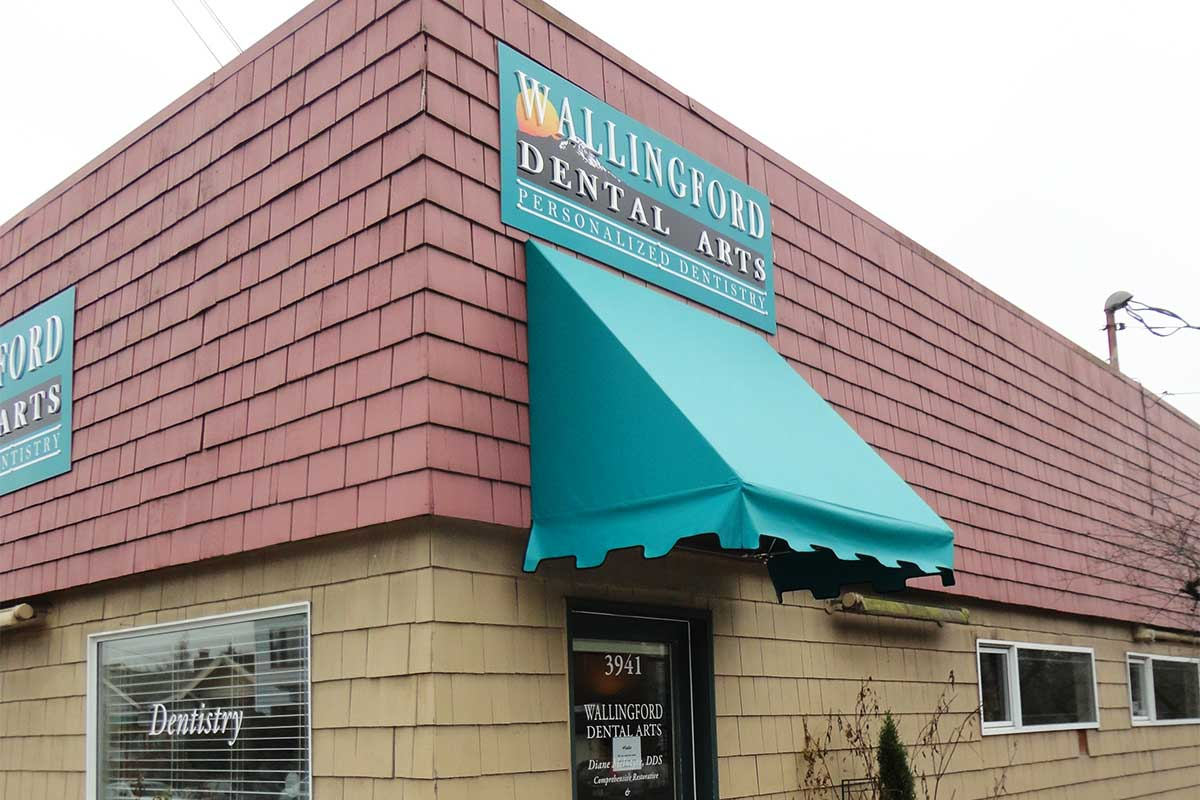 studio high seattle performance in washington awnings canopies signs awning vinyl and graphics with